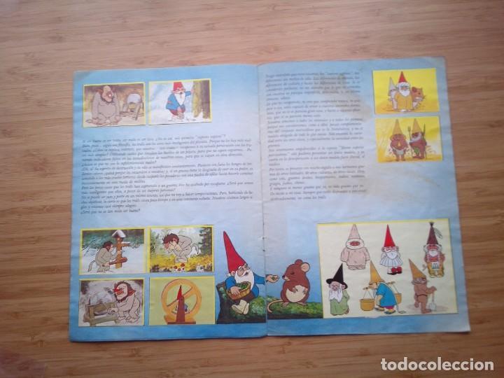 Coleccionismo Álbum: DAVID EL GNOMO - DANONE - ALBUM DE CROMOS - COMPLETO - GORBAUD - Foto 9 - 200151656