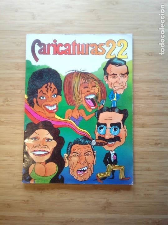CARICATURAS 22 - ALBUM DE CROMOS - COMPLETO - CROMOS ROS SA - BUEN ESTADO - GORBAUD (Coleccionismo - Cromos y Álbumes - Álbumes Completos)