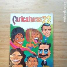 Coleccionismo Álbum: CARICATURAS 22 - ALBUM DE CROMOS - COMPLETO - CROMOS ROS SA - BUEN ESTADO - GORBAUD. Lote 201190216