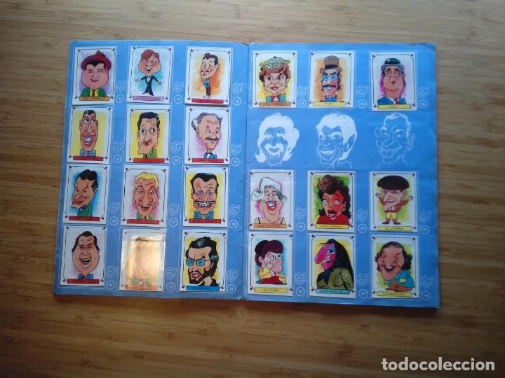 Coleccionismo Álbum: CARICATURAS 22 - ALBUM DE CROMOS - COMPLETO - CROMOS ROS SA - BUEN ESTADO - GORBAUD - Foto 3 - 201190216