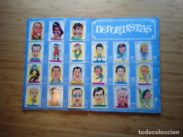 Coleccionismo Álbum: CARICATURAS 22 - ALBUM DE CROMOS - COMPLETO - CROMOS ROS SA - BUEN ESTADO - GORBAUD - Foto 4 - 201190216