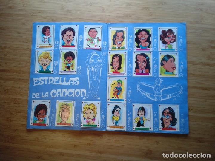 Coleccionismo Álbum: CARICATURAS 22 - ALBUM DE CROMOS - COMPLETO - CROMOS ROS SA - BUEN ESTADO - GORBAUD - Foto 5 - 201190216