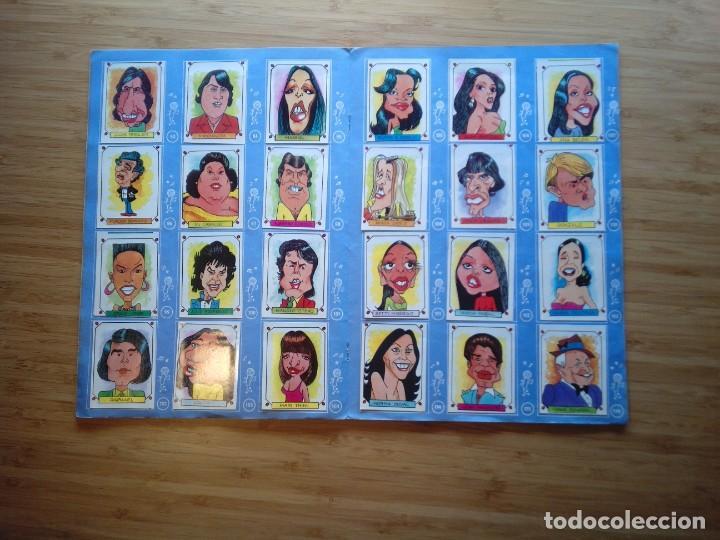 Coleccionismo Álbum: CARICATURAS 22 - ALBUM DE CROMOS - COMPLETO - CROMOS ROS SA - BUEN ESTADO - GORBAUD - Foto 7 - 201190216
