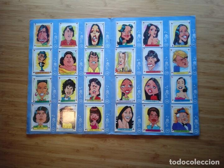 Coleccionismo Álbum: CARICATURAS 22 - ALBUM DE CROMOS - COMPLETO - CROMOS ROS SA - BUEN ESTADO - GORBAUD - Foto 8 - 201190216