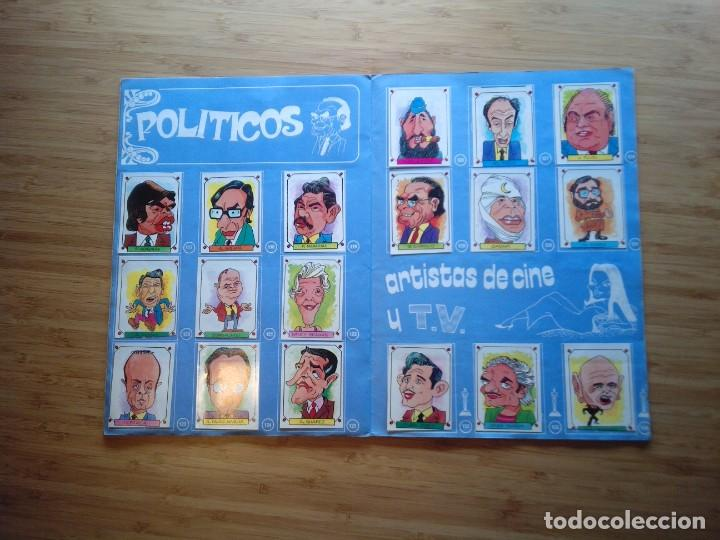 Coleccionismo Álbum: CARICATURAS 22 - ALBUM DE CROMOS - COMPLETO - CROMOS ROS SA - BUEN ESTADO - GORBAUD - Foto 9 - 201190216