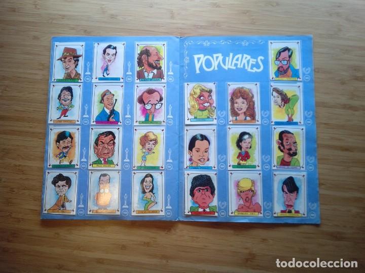 Coleccionismo Álbum: CARICATURAS 22 - ALBUM DE CROMOS - COMPLETO - CROMOS ROS SA - BUEN ESTADO - GORBAUD - Foto 12 - 201190216