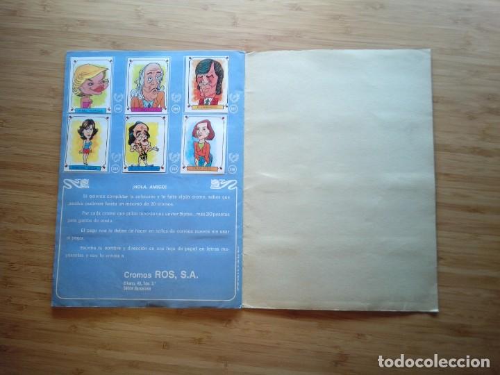 Coleccionismo Álbum: CARICATURAS 22 - ALBUM DE CROMOS - COMPLETO - CROMOS ROS SA - BUEN ESTADO - GORBAUD - Foto 13 - 201190216