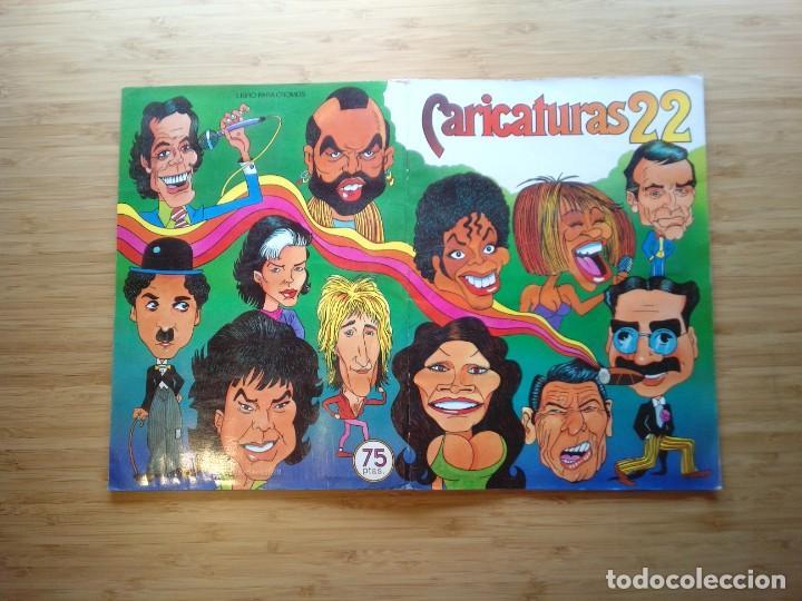 Coleccionismo Álbum: CARICATURAS 22 - ALBUM DE CROMOS - COMPLETO - CROMOS ROS SA - BUEN ESTADO - GORBAUD - Foto 14 - 201190216