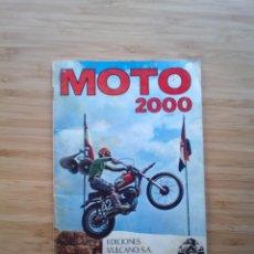 Coleccionismo Álbum: MOTO 2000 - ALBUM CROMOS COMPLETO - EDICIONES VULVANO SA --GORBAUD. Lote 201194351