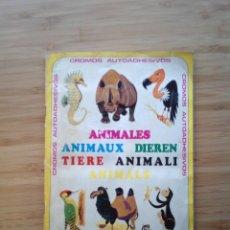 Coleccionismo Álbum: ANIMALES - ALBUM CROMOS COMPLETO - EDICIONES VULVANO SA --GORBAUD. Lote 201194486