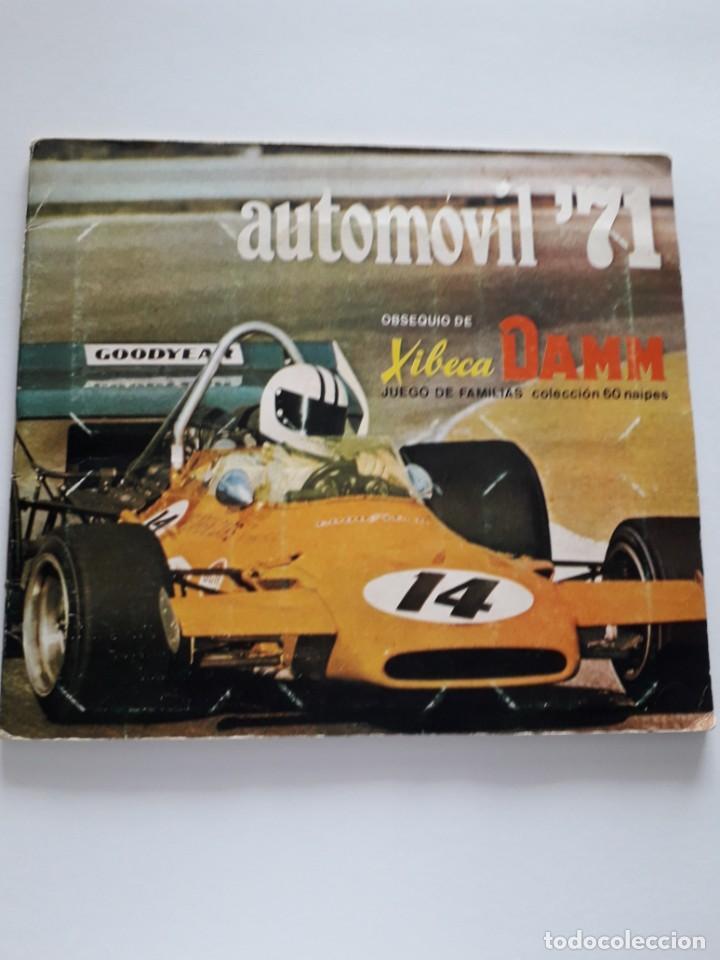 ALBUM DE CROMOS AUTOMOVIL 71 COMPLETO (Coleccionismo - Cromos y Álbumes - Álbumes Completos)