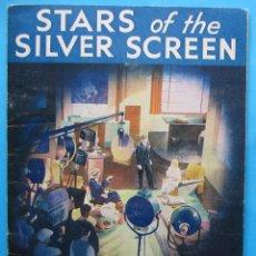Coleccionismo Álbum: STARS OF THE SILVER SCREEN.PRESENTED BY NESTLE'S. ESTRELLAS DE CINE. ÁLBUM NESTLE, 1936.. Lote 201753085