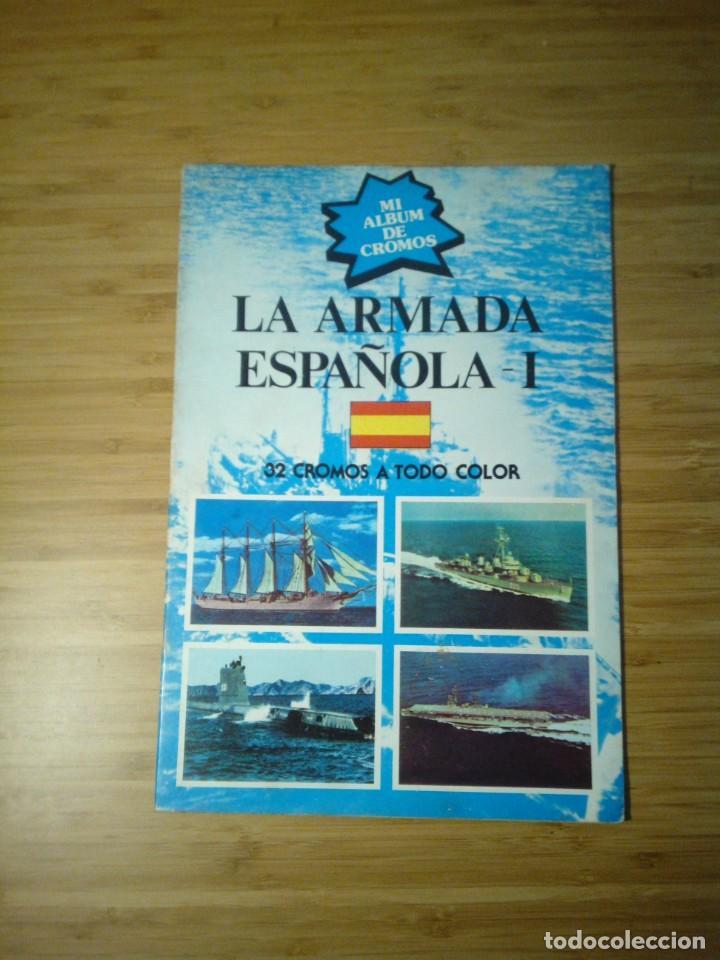 LA ARMADA ESPAÑOLA I - ALBUM COMPLETO - BE - EDITORIAL NUEVA SITUACION SA - BE - SIN PEGAR CROMOS (Coleccionismo - Cromos y Álbumes - Álbumes Completos)