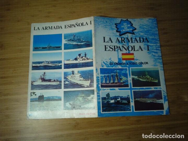Coleccionismo Álbum: LA ARMADA ESPAÑOLA I - ALBUM COMPLETO - BE - EDITORIAL NUEVA SITUACION SA - BE - SIN PEGAR CROMOS - Foto 9 - 201819503