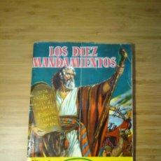 Coleccionismo Álbum: LOS DIEZ MANDAMIENTOS - ALBUM COMPLETO DE CHOCOLATES SULTANA - 210 CROMOS FOTOGRAFIAS - GORBAUD. Lote 201821098