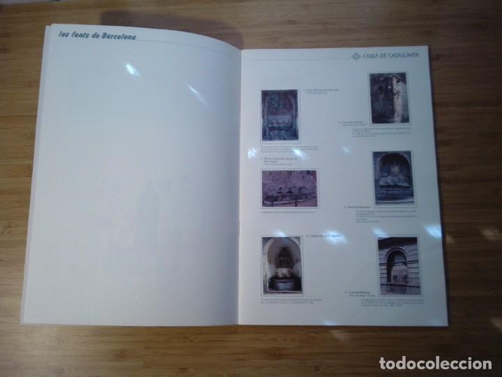 Coleccionismo Álbum: LES FONTS DE BARCELONA - ALBUM COMPLETO DE CAIXA CATALUÑA - MUY BUEN ESTADO - GORBAUD - Foto 4 - 201821323