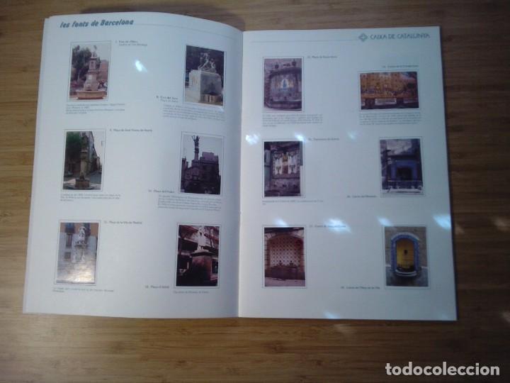Coleccionismo Álbum: LES FONTS DE BARCELONA - ALBUM COMPLETO DE CAIXA CATALUÑA - MUY BUEN ESTADO - GORBAUD - Foto 5 - 201821323
