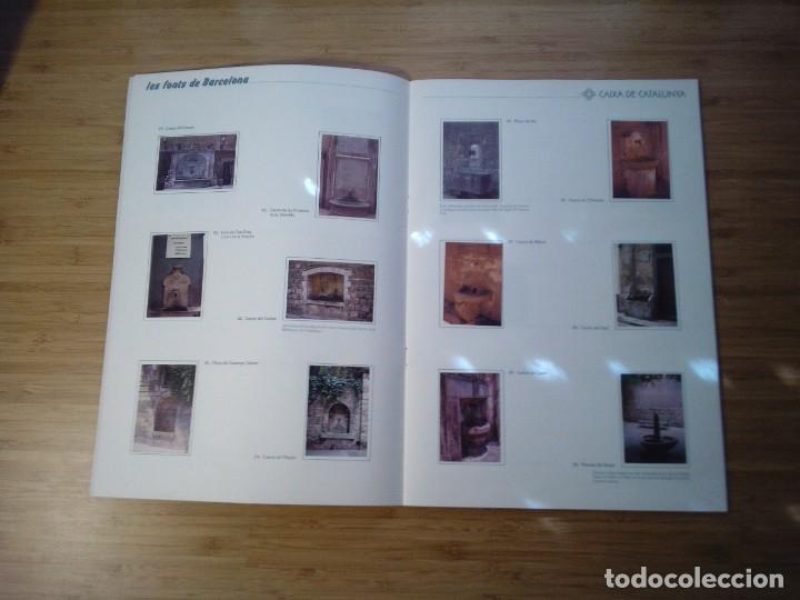 Coleccionismo Álbum: LES FONTS DE BARCELONA - ALBUM COMPLETO DE CAIXA CATALUÑA - MUY BUEN ESTADO - GORBAUD - Foto 6 - 201821323