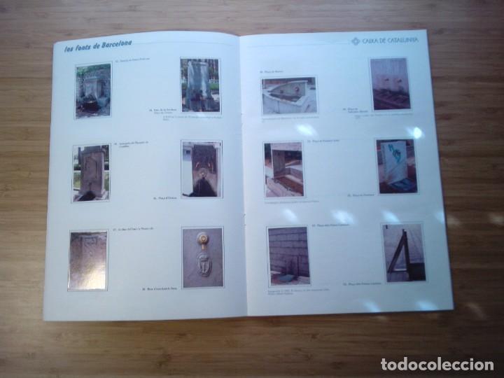 Coleccionismo Álbum: LES FONTS DE BARCELONA - ALBUM COMPLETO DE CAIXA CATALUÑA - MUY BUEN ESTADO - GORBAUD - Foto 9 - 201821323