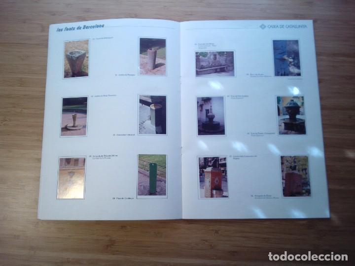 Coleccionismo Álbum: LES FONTS DE BARCELONA - ALBUM COMPLETO DE CAIXA CATALUÑA - MUY BUEN ESTADO - GORBAUD - Foto 10 - 201821323