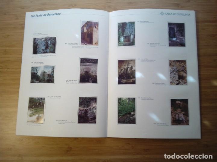 Coleccionismo Álbum: LES FONTS DE BARCELONA - ALBUM COMPLETO DE CAIXA CATALUÑA - MUY BUEN ESTADO - GORBAUD - Foto 16 - 201821323