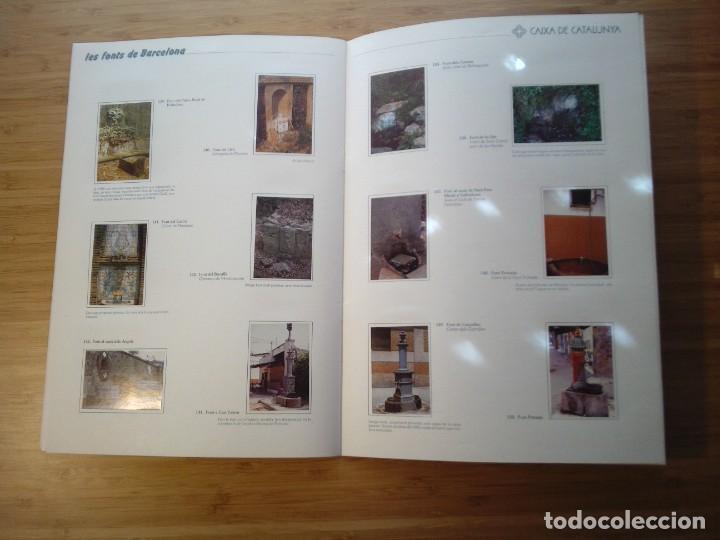 Coleccionismo Álbum: LES FONTS DE BARCELONA - ALBUM COMPLETO DE CAIXA CATALUÑA - MUY BUEN ESTADO - GORBAUD - Foto 17 - 201821323