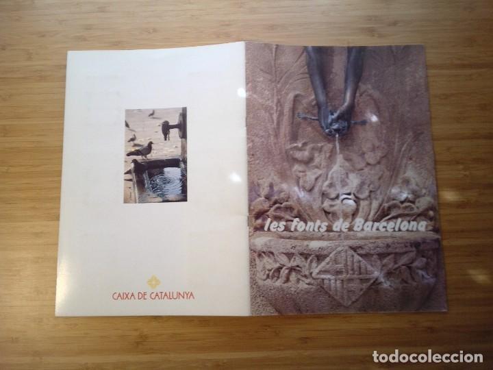Coleccionismo Álbum: LES FONTS DE BARCELONA - ALBUM COMPLETO DE CAIXA CATALUÑA - MUY BUEN ESTADO - GORBAUD - Foto 20 - 201821323