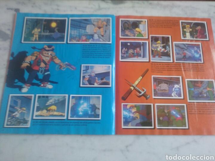 Coleccionismo Álbum: Album de cromos Tortugas ninja. ( completo) inpecable. Sin poster. - Foto 13 - 201841681