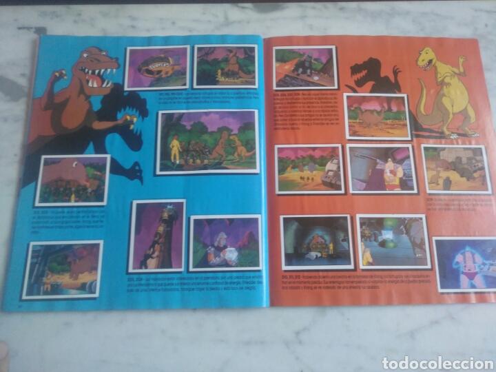Coleccionismo Álbum: Album de cromos Tortugas ninja. ( completo) inpecable. Sin poster. - Foto 17 - 201841681