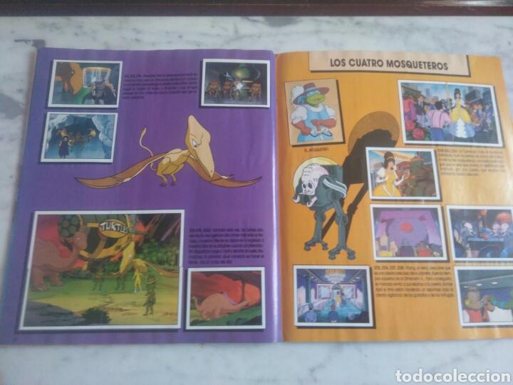Coleccionismo Álbum: Album de cromos Tortugas ninja. ( completo) inpecable. Sin poster. - Foto 18 - 201841681