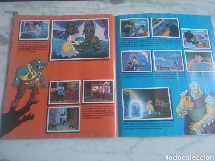 Coleccionismo Álbum: Album de cromos Tortugas ninja. ( completo) inpecable. Sin poster. - Foto 19 - 201841681