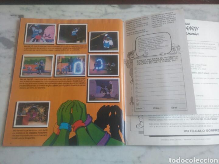 Coleccionismo Álbum: Album de cromos Tortugas ninja. ( completo) inpecable. Sin poster. - Foto 20 - 201841681