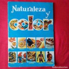 Coleccionismo Álbum: NATURALEZA Y COLOR. EDIT CAREN 1980. PEGADOS 176 DE 380. Lote 202100685