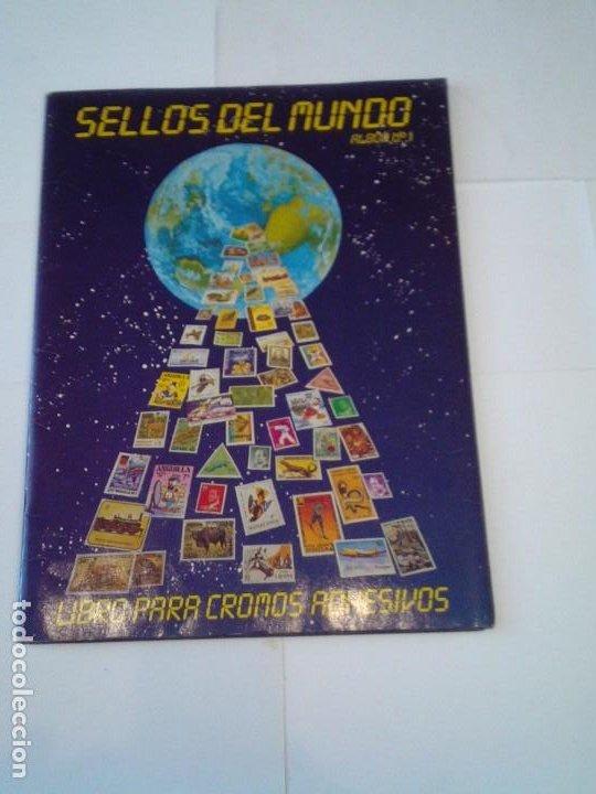 SELLOS DEL MUNDO - ALBUM Nº 1 - ALBUM DE CROMOS COMPLETO - EDICIONES TELEKITOS - BUEN ESTADO-GORBAUD (Coleccionismo - Cromos y Álbumes - Álbumes Completos)