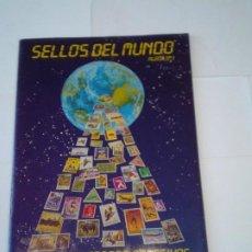 Coleccionismo Álbum: SELLOS DEL MUNDO - ALBUM Nº 1 - ALBUM DE CROMOS COMPLETO - EDICIONES TELEKITOS - BUEN ESTADO-GORBAUD. Lote 202577575