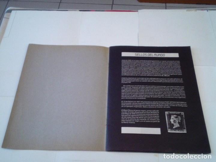 Coleccionismo Álbum: SELLOS DEL MUNDO - ALBUM Nº 1 - ALBUM DE CROMOS COMPLETO - EDICIONES TELEKITOS - BUEN ESTADO-GORBAUD - Foto 2 - 202577575
