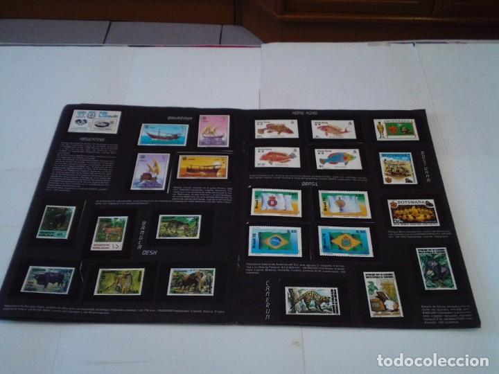 Coleccionismo Álbum: SELLOS DEL MUNDO - ALBUM Nº 1 - ALBUM DE CROMOS COMPLETO - EDICIONES TELEKITOS - BUEN ESTADO-GORBAUD - Foto 10 - 202577575