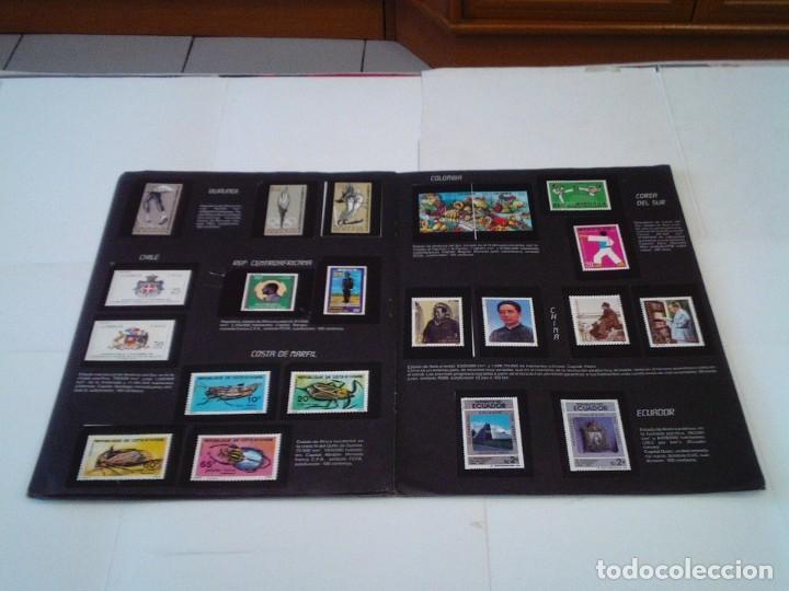 Coleccionismo Álbum: SELLOS DEL MUNDO - ALBUM Nº 1 - ALBUM DE CROMOS COMPLETO - EDICIONES TELEKITOS - BUEN ESTADO-GORBAUD - Foto 11 - 202577575