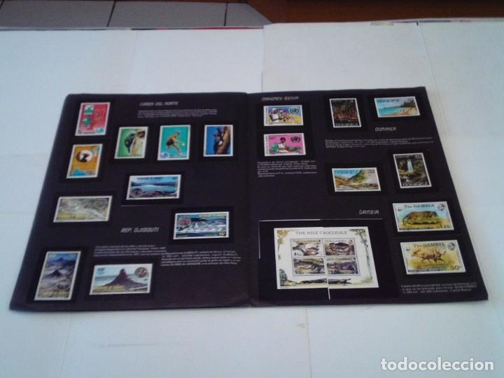Coleccionismo Álbum: SELLOS DEL MUNDO - ALBUM Nº 1 - ALBUM DE CROMOS COMPLETO - EDICIONES TELEKITOS - BUEN ESTADO-GORBAUD - Foto 12 - 202577575