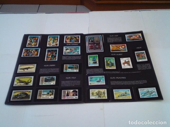 Coleccionismo Álbum: SELLOS DEL MUNDO - ALBUM Nº 1 - ALBUM DE CROMOS COMPLETO - EDICIONES TELEKITOS - BUEN ESTADO-GORBAUD - Foto 16 - 202577575