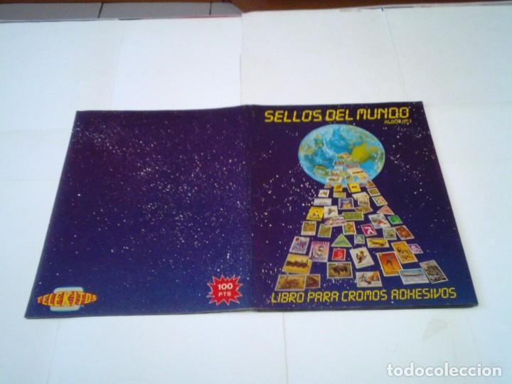 Coleccionismo Álbum: SELLOS DEL MUNDO - ALBUM Nº 1 - ALBUM DE CROMOS COMPLETO - EDICIONES TELEKITOS - BUEN ESTADO-GORBAUD - Foto 18 - 202577575