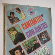 Coleccionismo Álbum: CANTANTES Y CONJUNTOS-MUSICA-EDICIONES ESTE-ALBUM DE CROMOS COMPLETO-VER FOTOS-(V-19.832). Lote 202994356