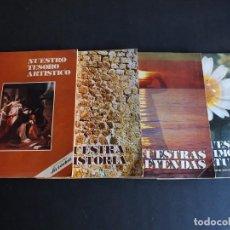 Collectionnisme Album: COLECCIONABLE LA VERDAD 4 ALBUMES NUESTRO TESORO ARTISTICO, PATRIMONIO CULTURAL, HISTORIA Y LEYENDAS. Lote 203027963