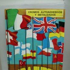 Coleccionismo Álbum: ALBUM COMPLETO TODA EUROPA. Lote 203205320