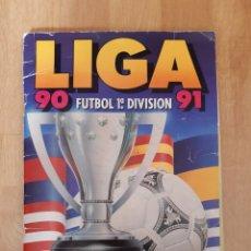 Coleccionismo Álbum: ALBUM LIGA 90-91 (356 CROMOS) BUEN ESTADO AÑO 1990-1991. Lote 203249265