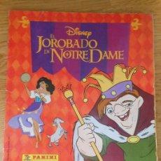 Coleccionismo Álbum: ALBUM DE CROMOS EL JOROBADO DE NOTRE DAME DE PANINI DISNEY - COMPLETO CROMO. Lote 203290131