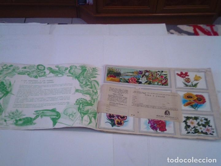 Coleccionismo Álbum: VIDA Y COLOR - ALBUM DE CROMOS - ALBUMES ESPAÑOLES, SA - COMPLETO - BUEN ESTADO - GORBAUD - Foto 2 - 203384722