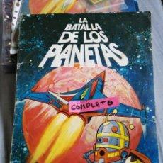 Coleccionismo Álbum: LA BATALLA DE LOS PLANETAS DANONE FALTA UNO. Lote 203440461