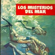 Coleccionismo Álbum: NUMULITE L1351 LOS MISTERIOS DEL MAR COLECCIÓN DE 128 CROMOS EDICIONES TORAY ALBUM COMPLETO. Lote 203628198