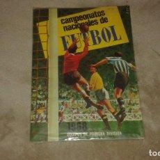 Coleccionismo Álbum: ALBUM CAMPEONATOS NACIONALES 1968 EDITORIAL RUÍZ ROMERO. Lote 198244761